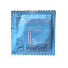 Tropical Colors b condoms, 20 Pack