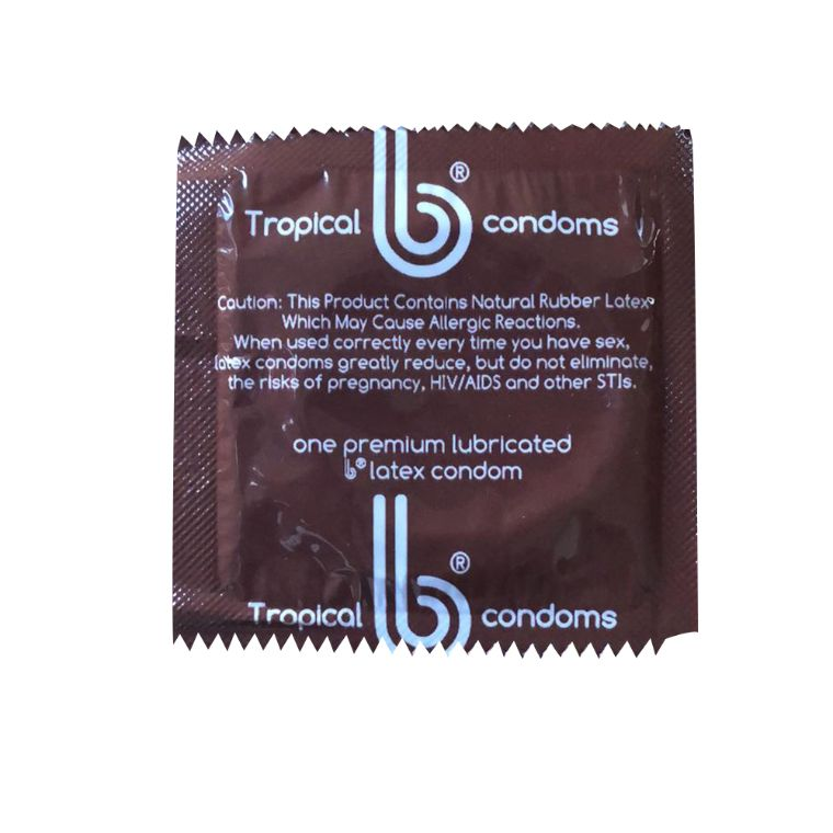 Tropical Colors b condoms, 10 Pack