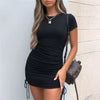 String Me Up Mini Dress
