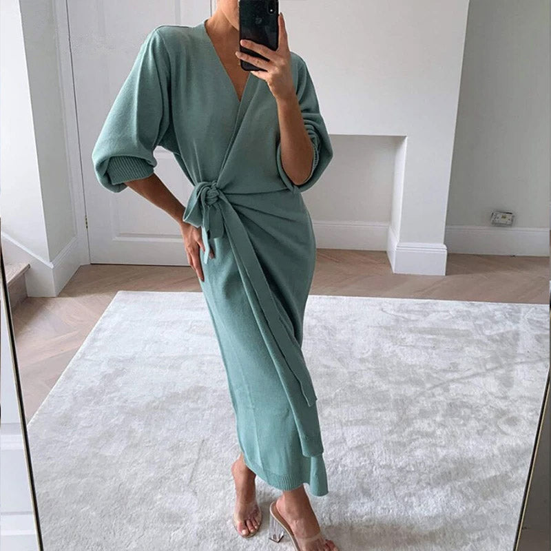 Too Cozy Midi Dress