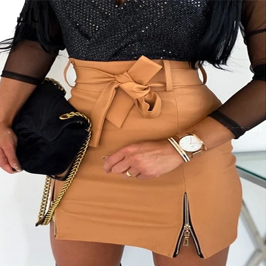 Dress Up Chic Mini Skirt