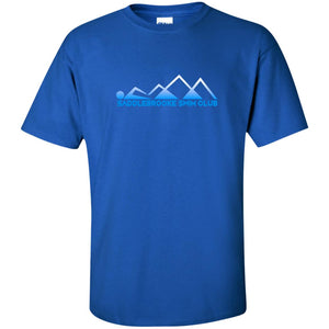 """Swim Mountains"" Men's Tall Ultra Cotton T-Shirt - SaddleBrookeUSA"