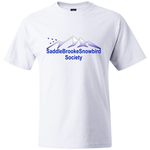 SaddleBrooke Snowbird Society Heavy Weight Men's T-Shirt - SaddleBrookeUSA