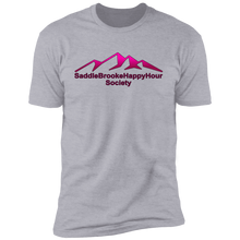 Load image into Gallery viewer, SaddleBrooke Happy Hour Society Men's Premium Short Sleeve T-Shirt - SaddleBrookeUSA