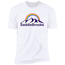 "Load image into Gallery viewer, ""Rainbow"" Men's Cotton  Short Sleeve T-Shirt - SaddleBrookeUSA"