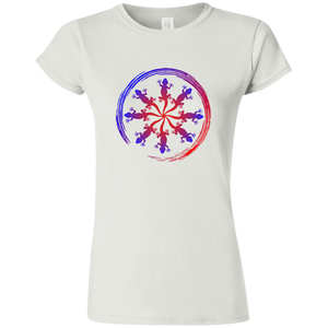 """Geckos"" Softstyle Women's' T-Shirt - SaddleBrookeUSA"