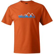 "Load image into Gallery viewer, ""Swim Mountains"" Men's Heavy Weight Cotton  T-Shirt - SaddleBrookeUSA"