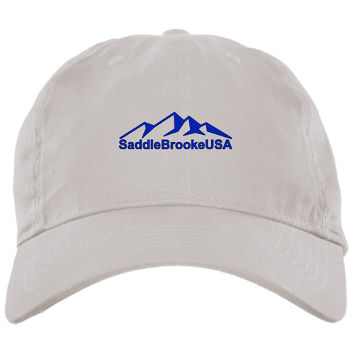 SaddleBrookeUSA Brushed Twill Unstructured Ball Cap - SaddleBrookeUSA