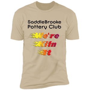 SB Pottery Club Men's Cotton Short Sleeve T-Shirt - SaddleBrookeUSA