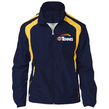 "Load image into Gallery viewer, ""Tennis"" Mens' Jersey-Lined Jacket - SaddleBrookeUSA"