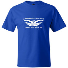 "Load image into Gallery viewer, ""Come Fly With Us"" Mens Heavy Weight  T-Shirt"
