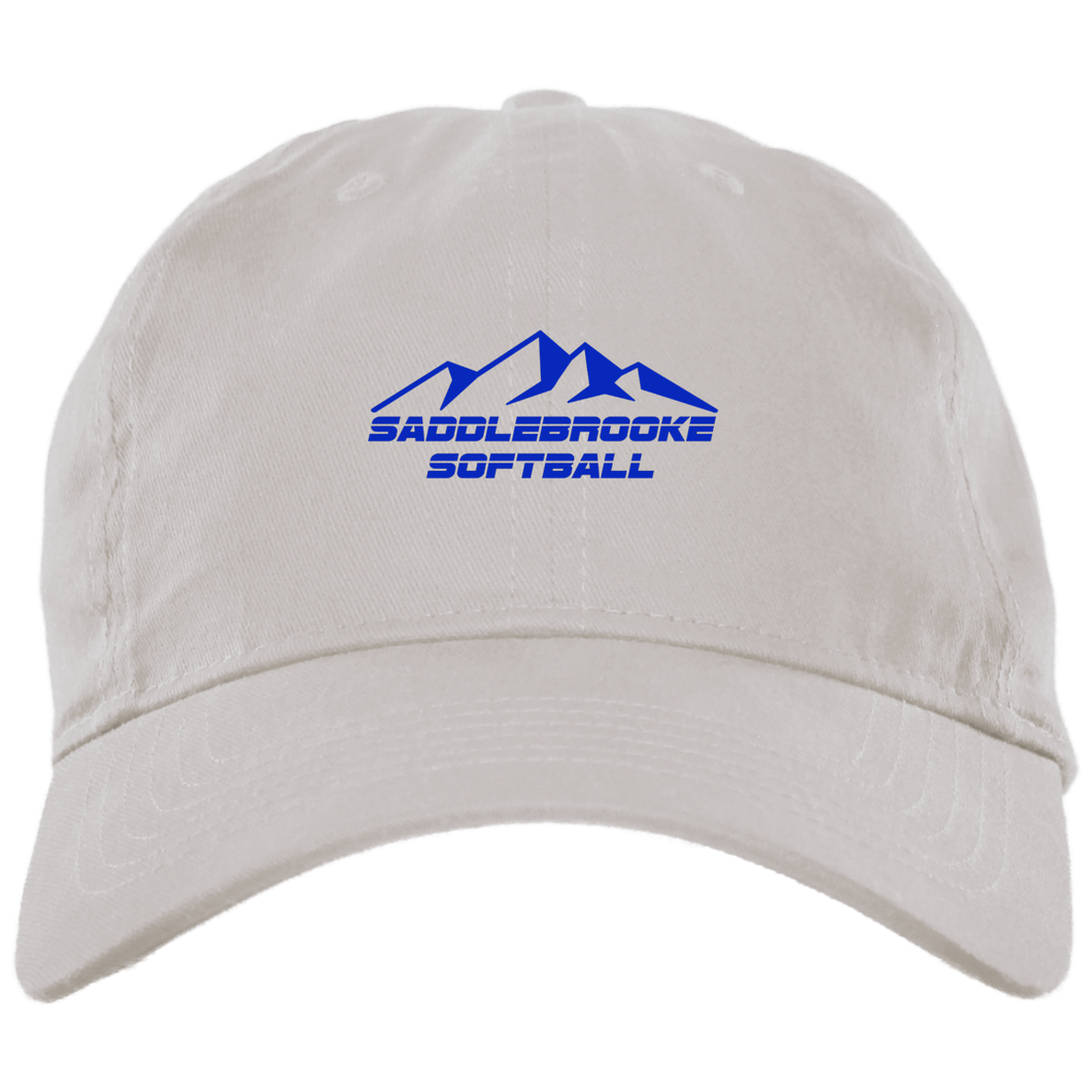 SaddleBrooke Softball Brushed Twill Unstructured Ball Cap - SaddleBrookeUSA