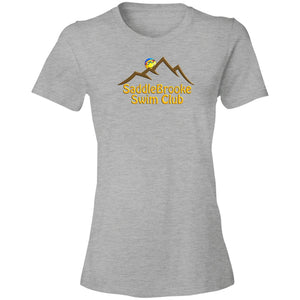 """SSC Smiley Logo"" Women's Lightweight Cotton T-Shirt - SaddleBrookeUSA"
