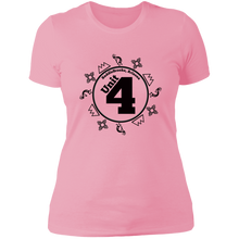"Load image into Gallery viewer, ""Unit 4"" Women's Crew Neck Cotton T-Shirt - SaddleBrookeUSA"