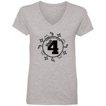 Load image into Gallery viewer, Unit 4 Women's V-Neck T-Shirt - SaddleBrookeUSA