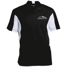 Load image into Gallery viewer, SaddleBrooke Golf Embroidered Men's Colorblock 3-button Performance Polo - SaddleBrookeUSA
