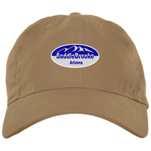 Load image into Gallery viewer, Saddlebrooke Oval Brushed Twill Unstructured Ball Cap - SaddleBrookeUSA