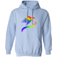 "Load image into Gallery viewer, ""Hummingbirds"" Pullover Hoodie 8 oz. - SaddleBrookeUSA"