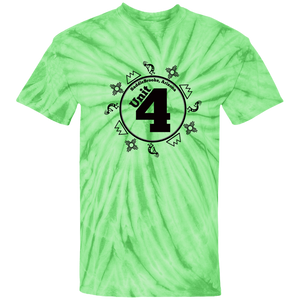 Unit 4 100% Cotton Tie Dye T-Shirt - SaddleBrookeUSA