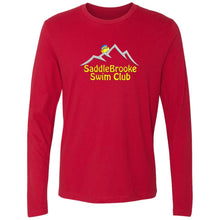 "Load image into Gallery viewer, ""SSC Smiley Logo"" Men's Long Sleeve Cotton Shirt - SaddleBrookeUSA"