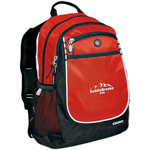 SaddleBrooke USA Embroidered  Rugged Backpack - SaddleBrookeUSA