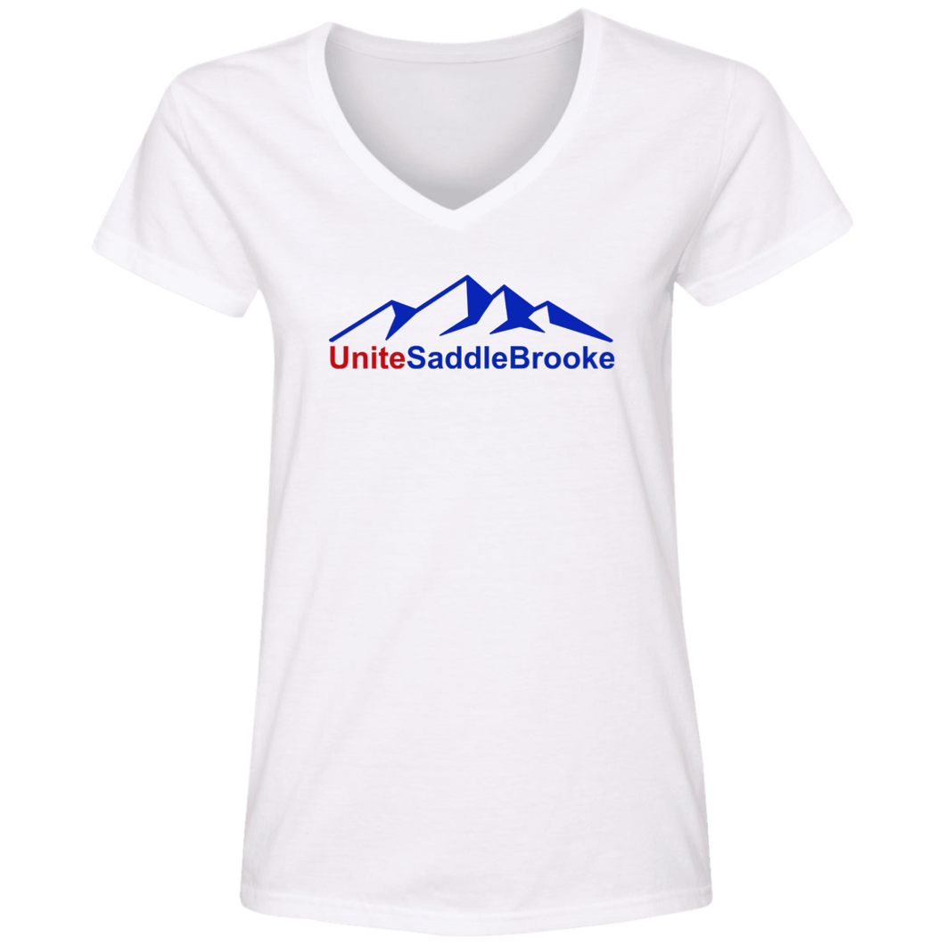 Unite SaddleBrooke Women's V-Neck T-Shirt - SaddleBrookeUSA