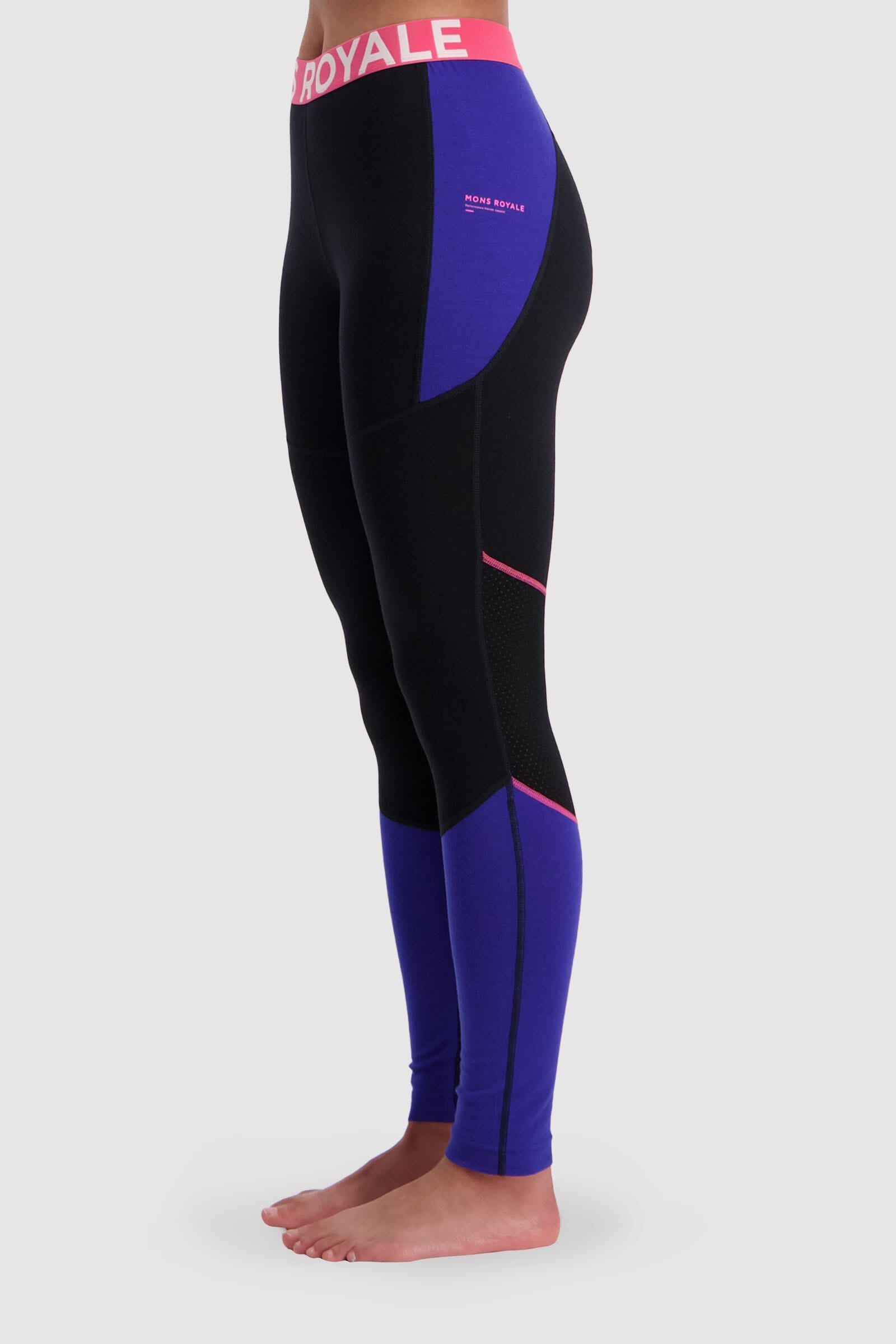 Olympus 3.0 Legging - Ultra Blue / Black