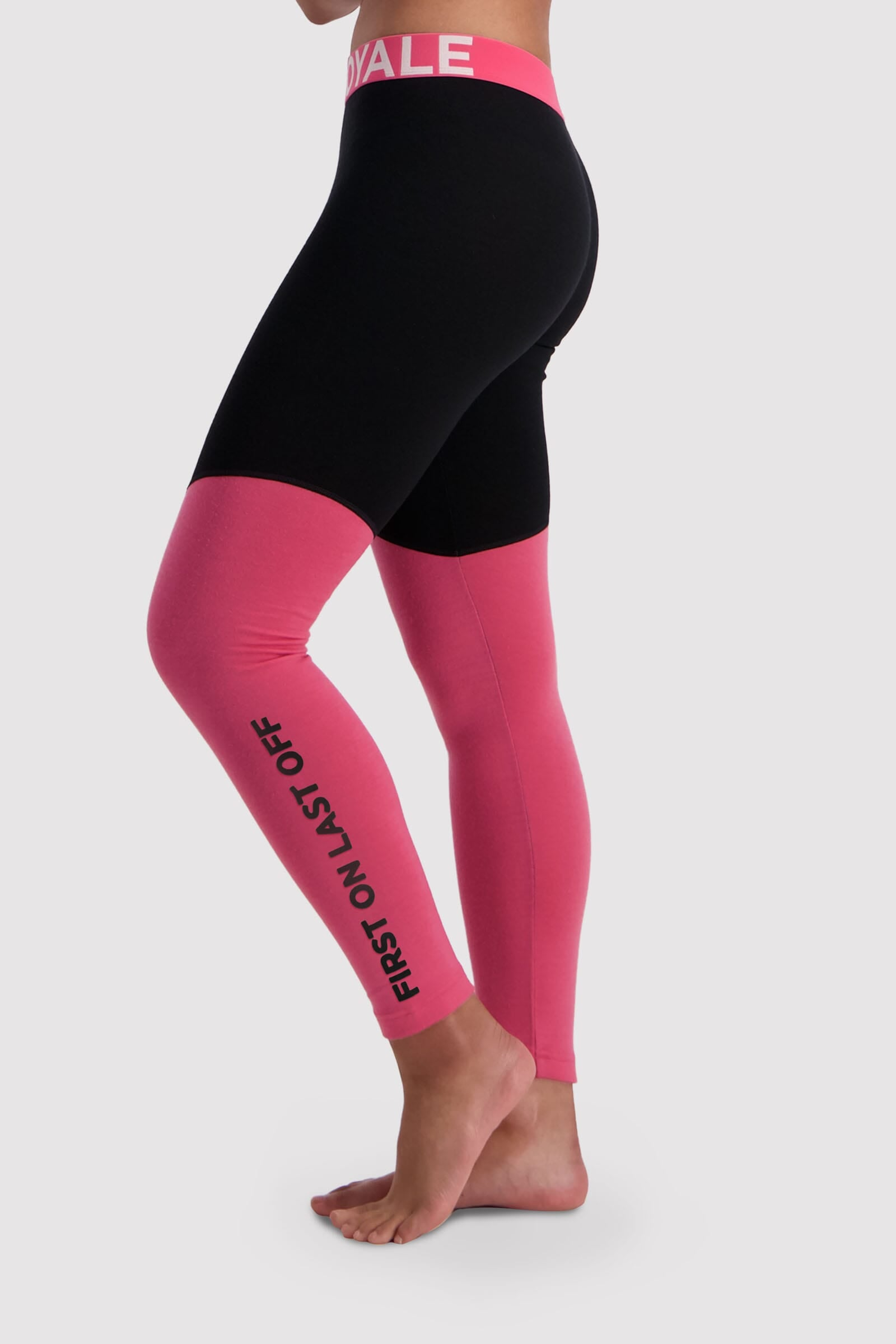 Christy Legging - Pink / Black