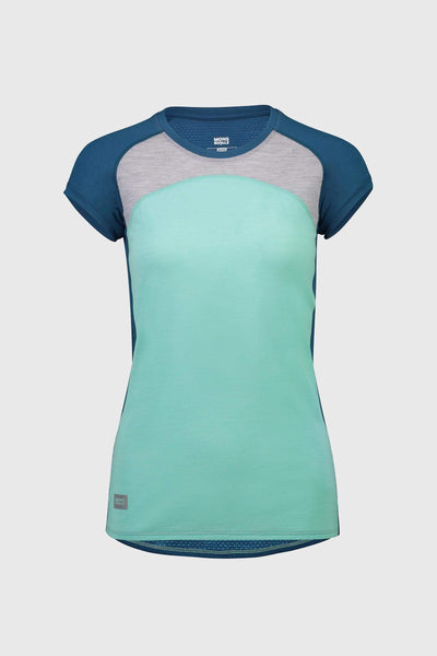 Bella Tech Tee - Oily Blue / Peppermint / Grey Marl