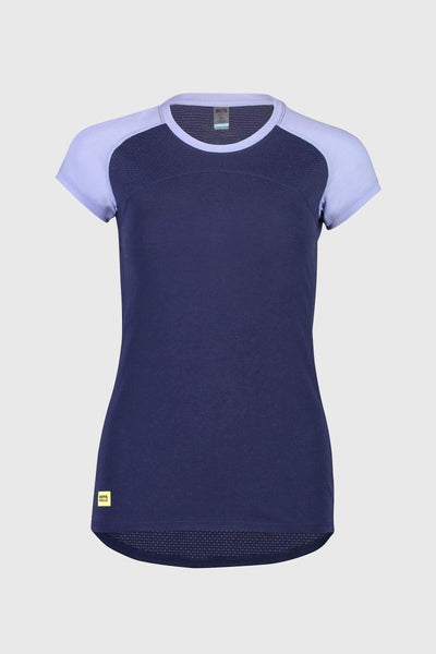 Bella Tech Tee - Navy / Blue Fog