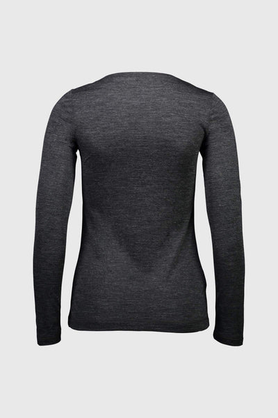 No Ordinary V-Neck LS - Smoke