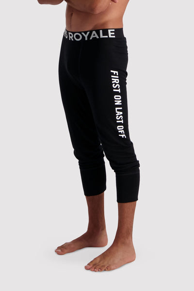 Shaun-off 3/4 Legging - Black