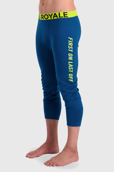 Shaun-off 3/4 Legging - Oily Blue