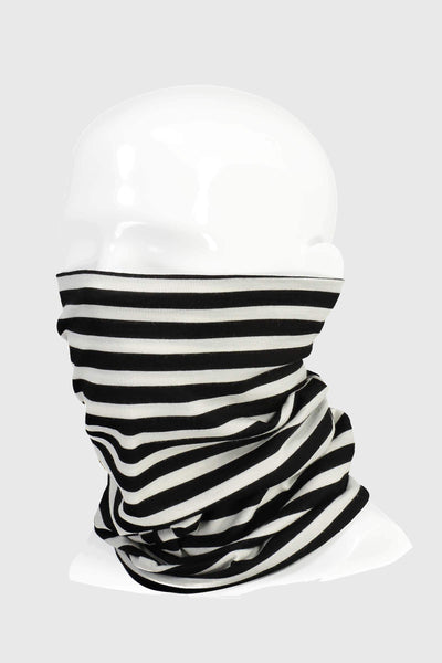 Double Up Neckwarmer - Thick Stripe