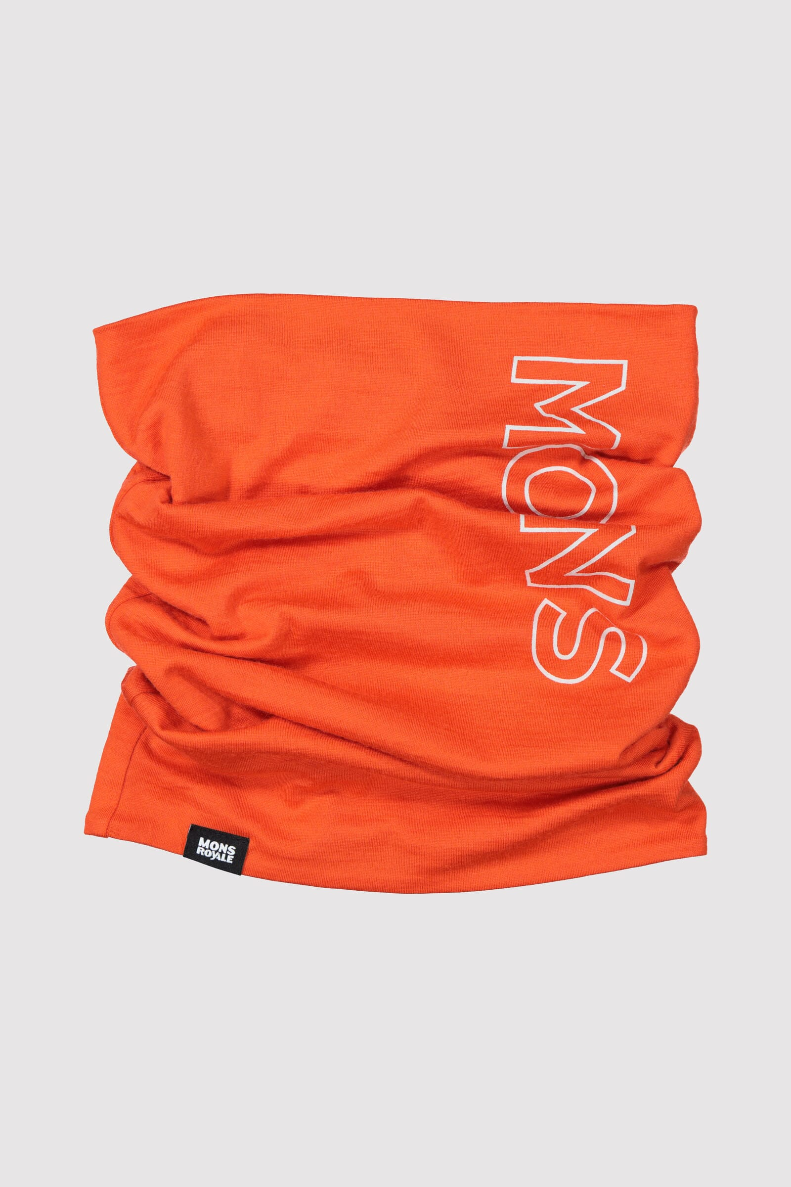 Double Up Neckwarmer - Orange Smash