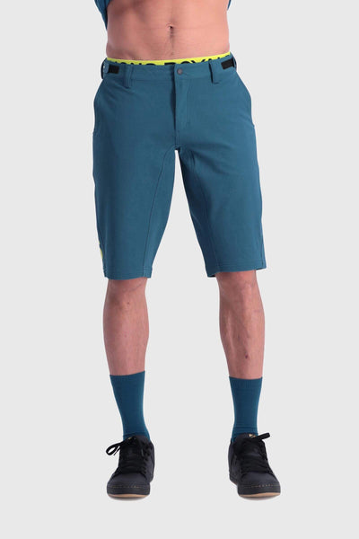 Momentum Bike Shorts - Oily Blue