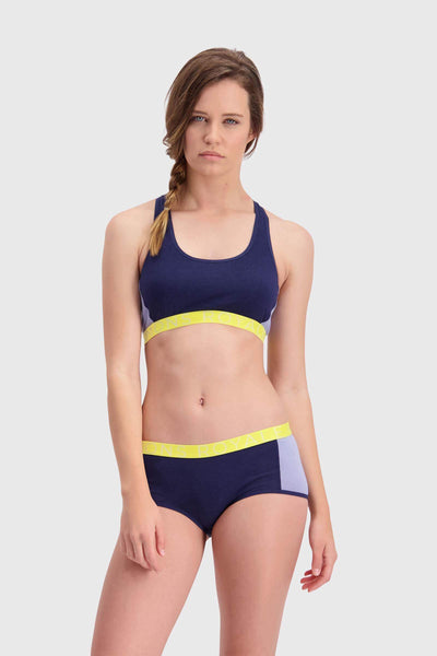 Sierra Sports Bra - Navy