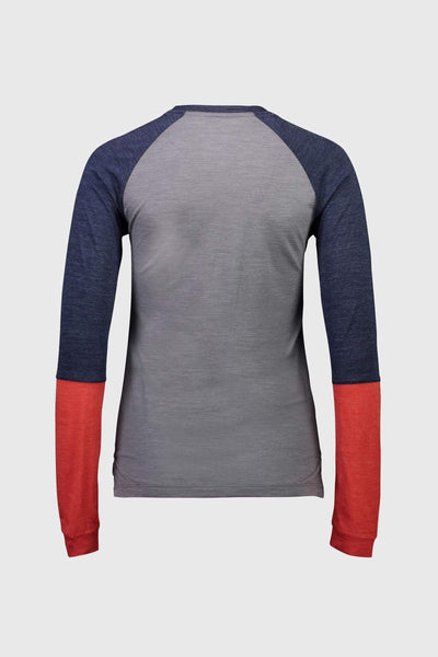 Zephyr Lite LS - Navy / Grey / Poppy