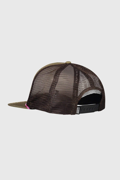 The ACL Trucker Cap - Khaki Rose