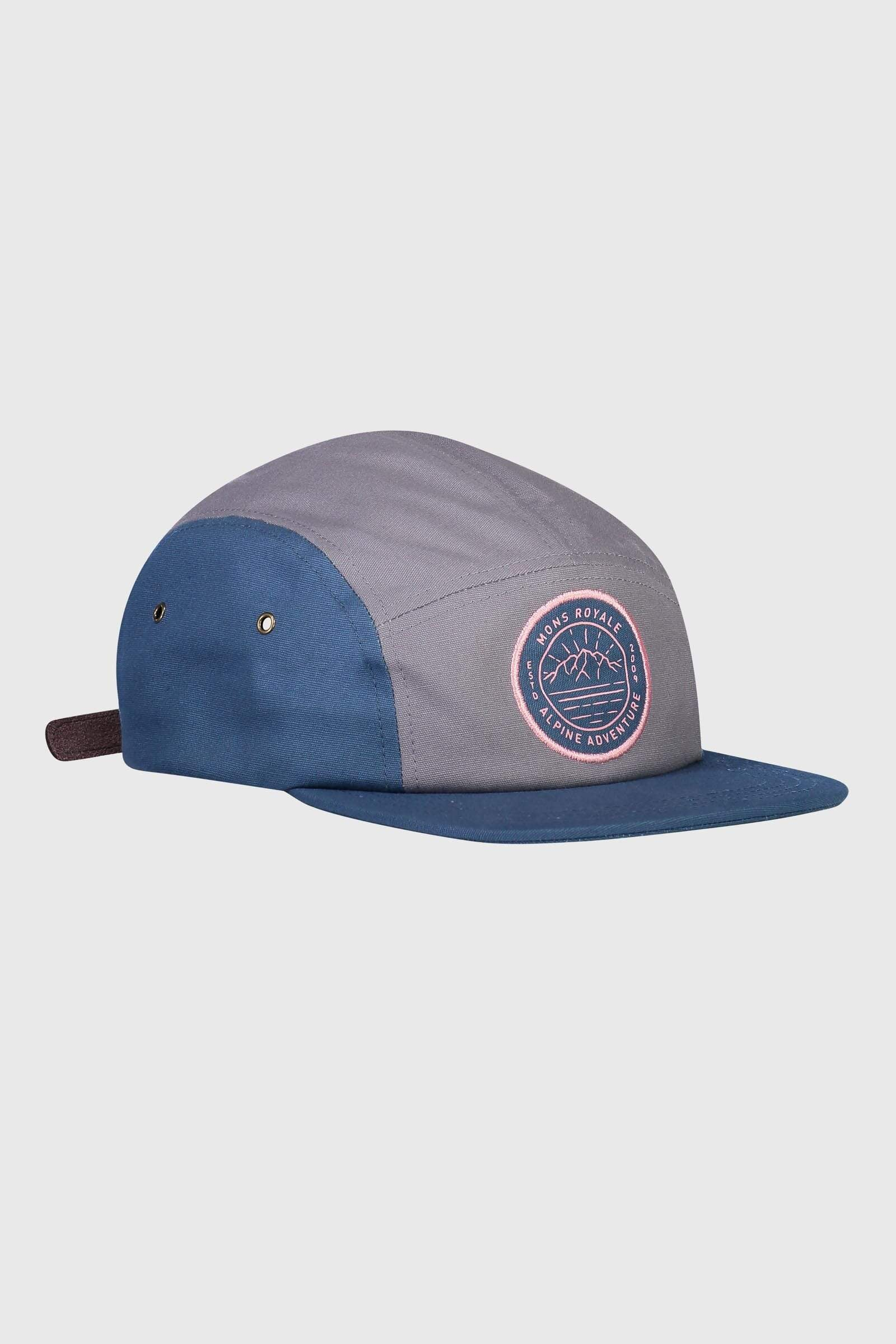 Beattie 5 Panel Cap - Denim / Grey