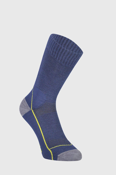 "MTB 9"" Tech Sock - Ink / Lemon"