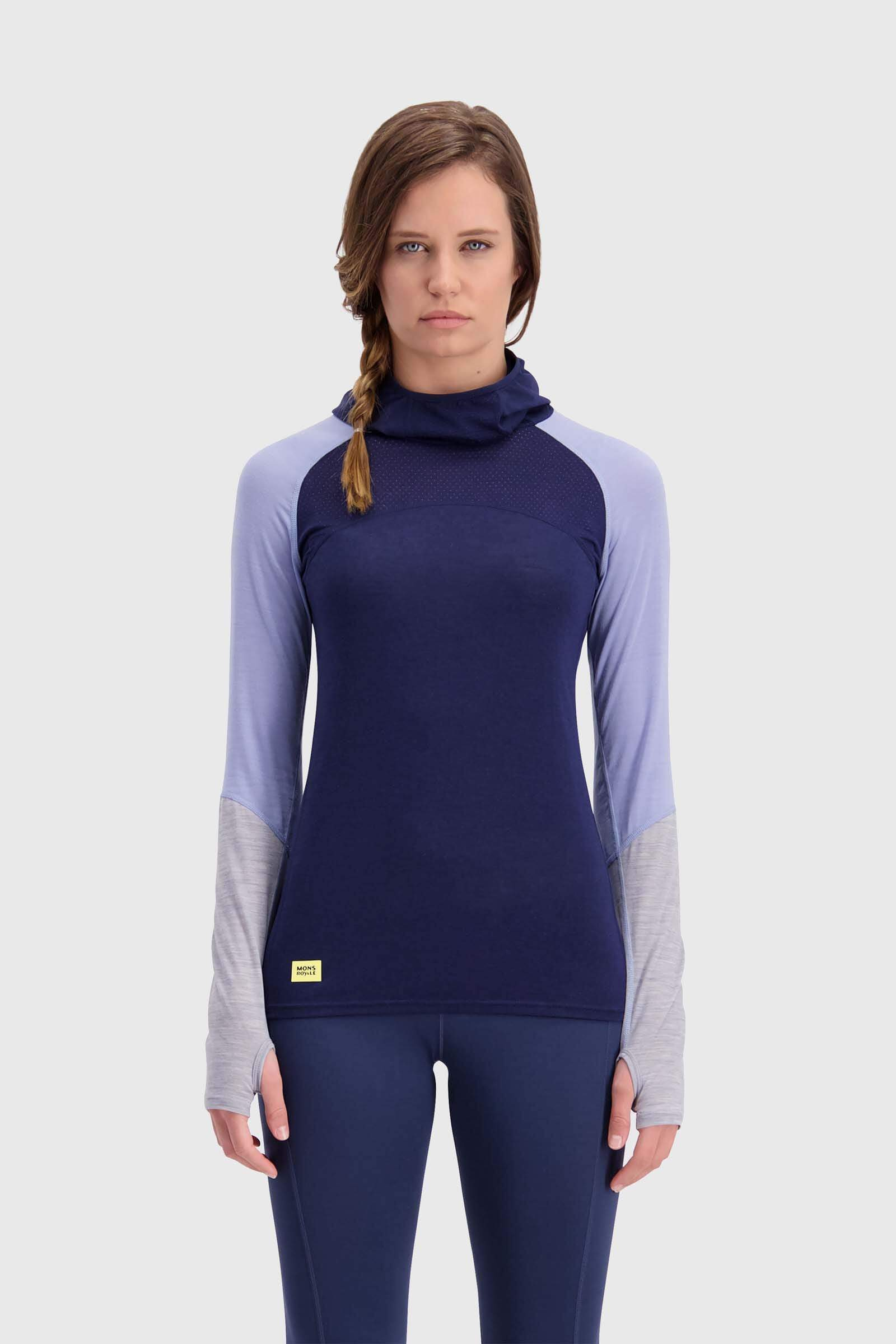 Bella Tech Flex Hood - Navy / Blue Fog / Grey Marl