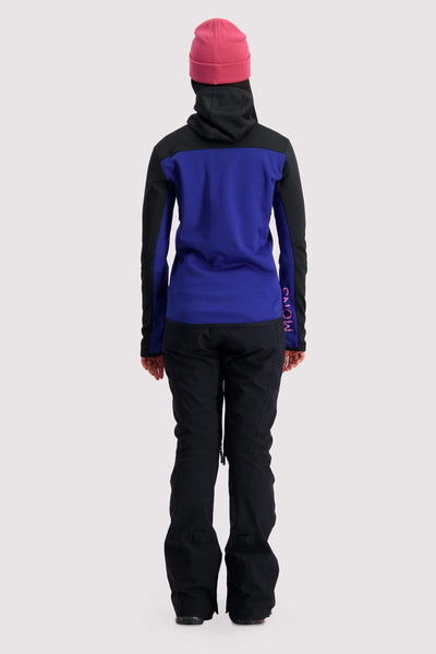 Approach Tech Mid Hoody - Ultra Blue / Black