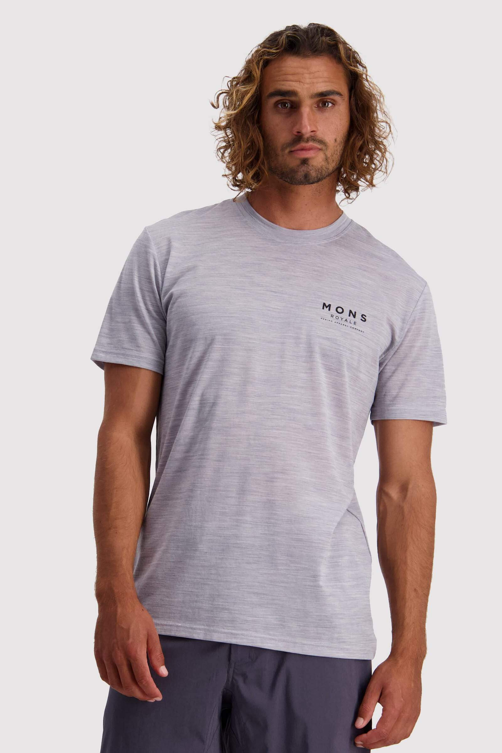 Icon T-Shirt - Grey Marl