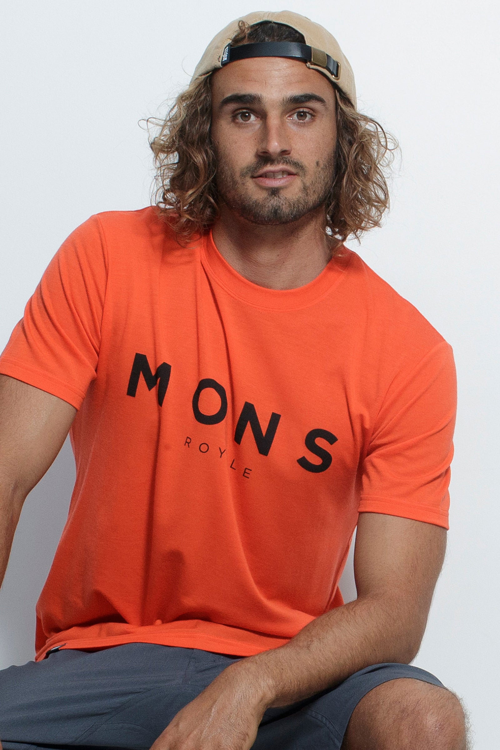 Icon T-Shirt - Orange Smash