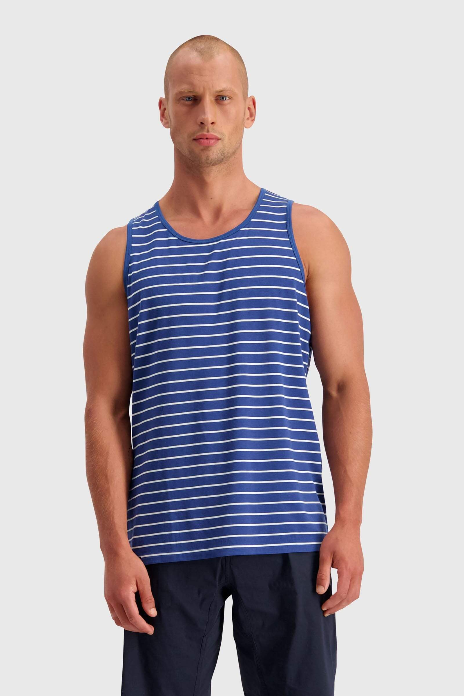 ICON Singlet - Ink Stripe