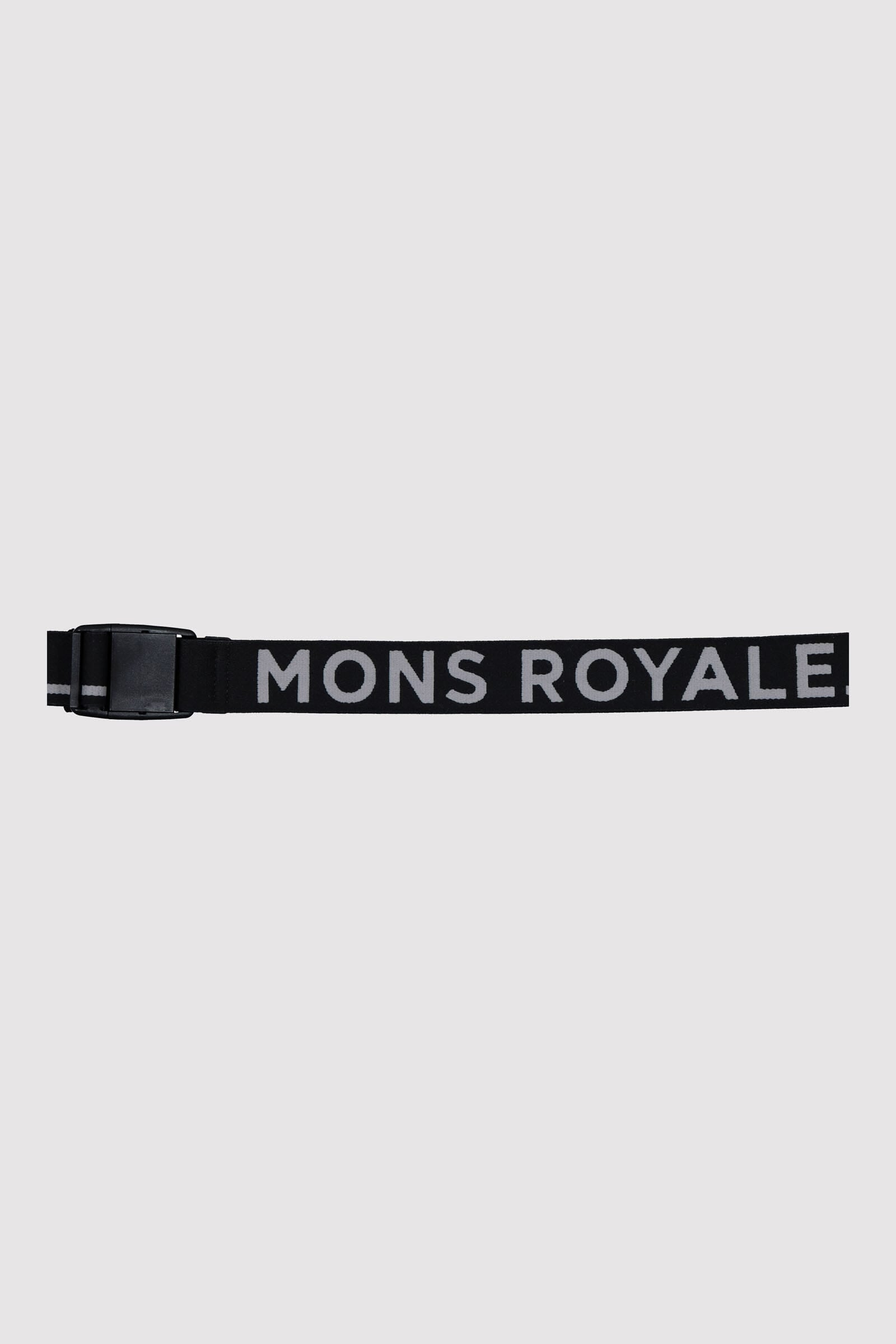 Mons Belt - Black / Grey