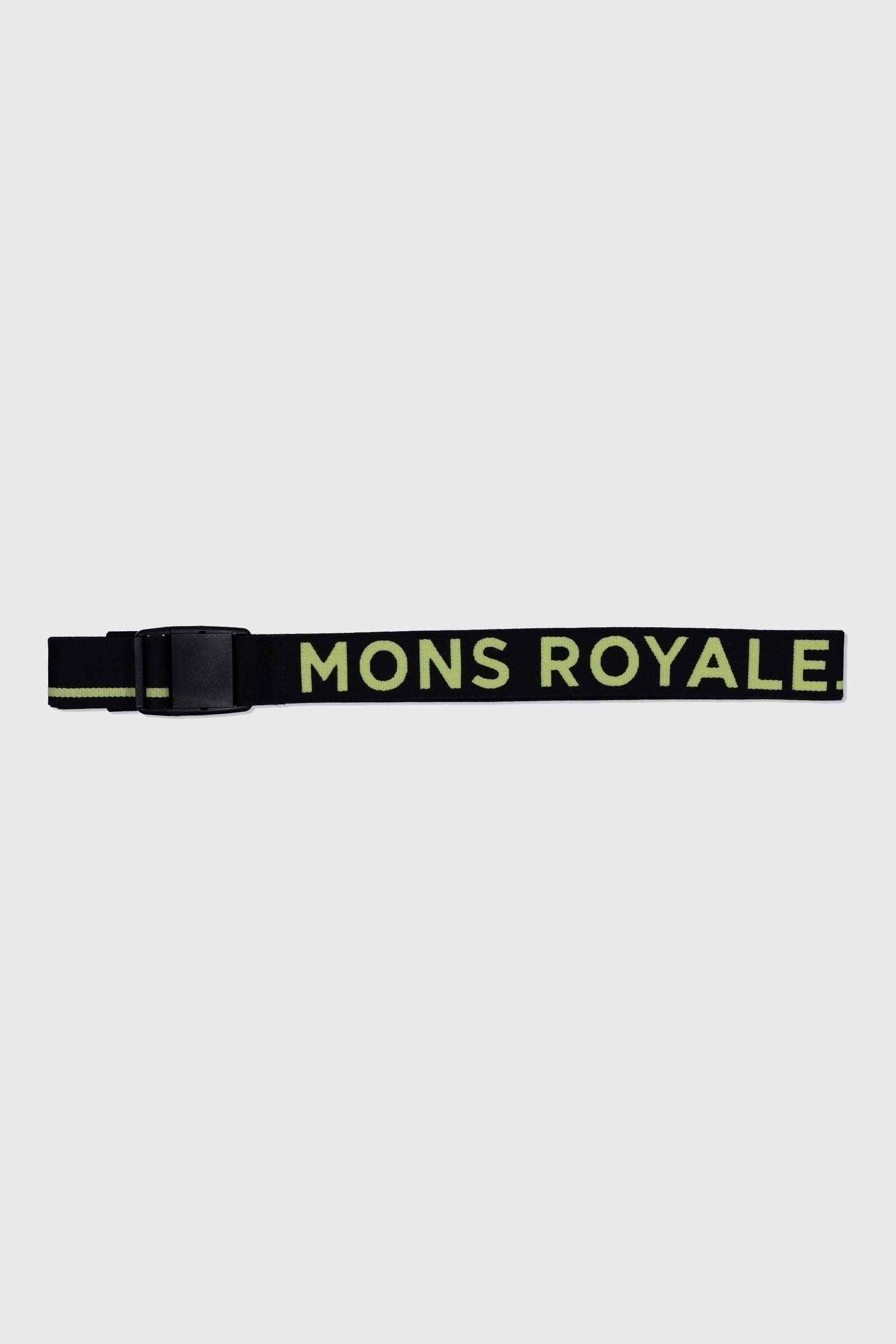 Mons Belt - Black / Sonic Lime