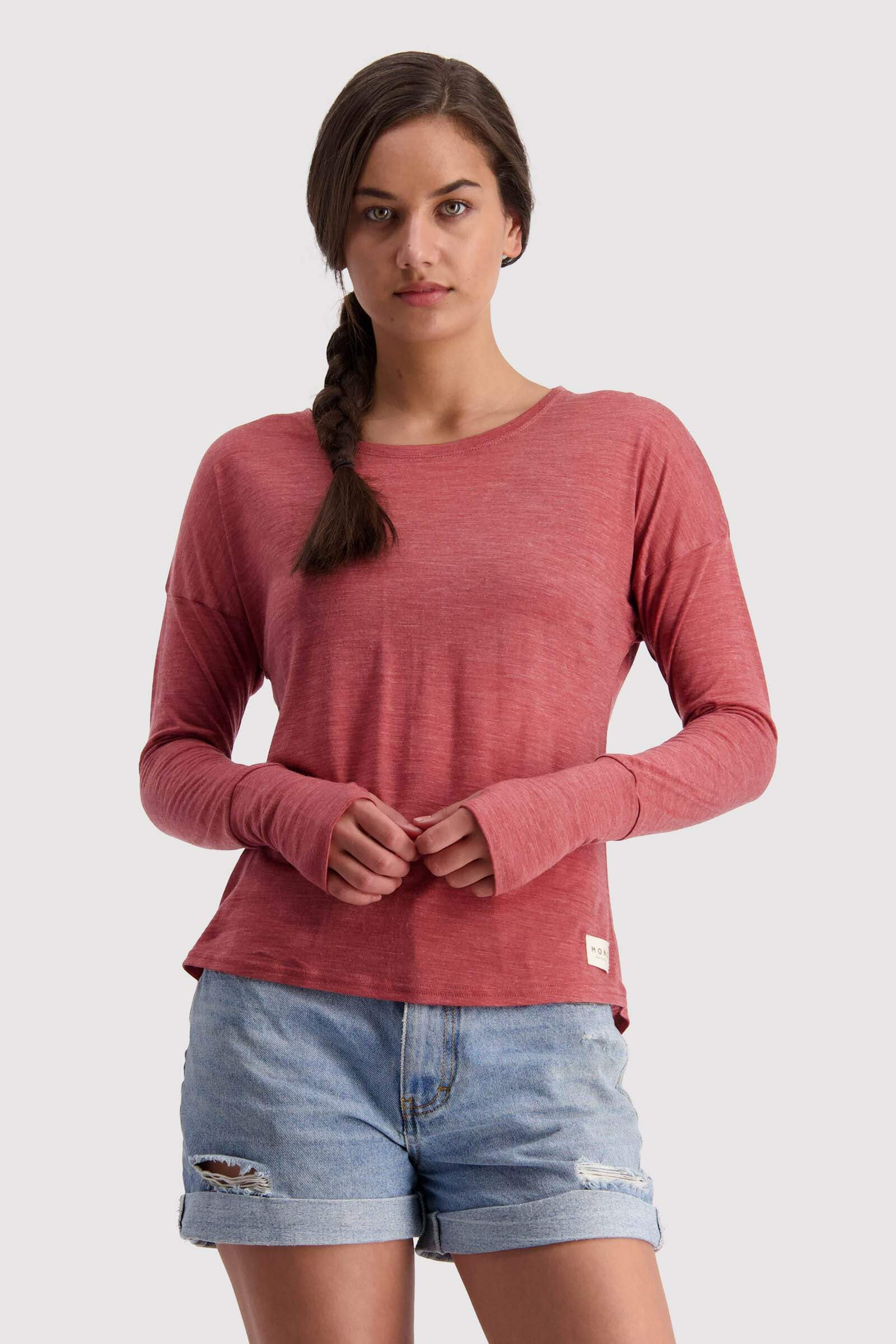 Estelle Relaxed LS - Terracotta