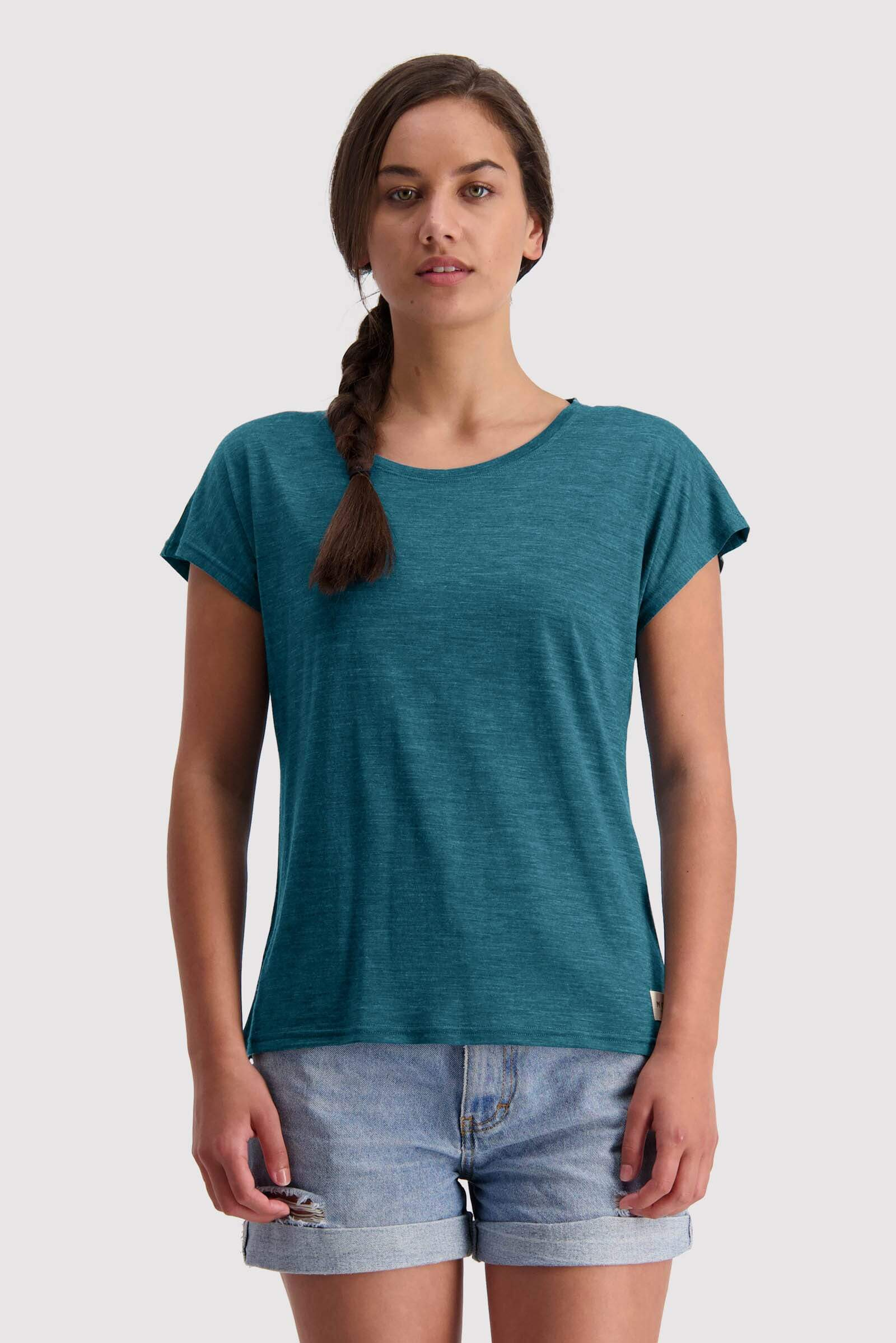 Estelle Cap Tee - Deep Teal
